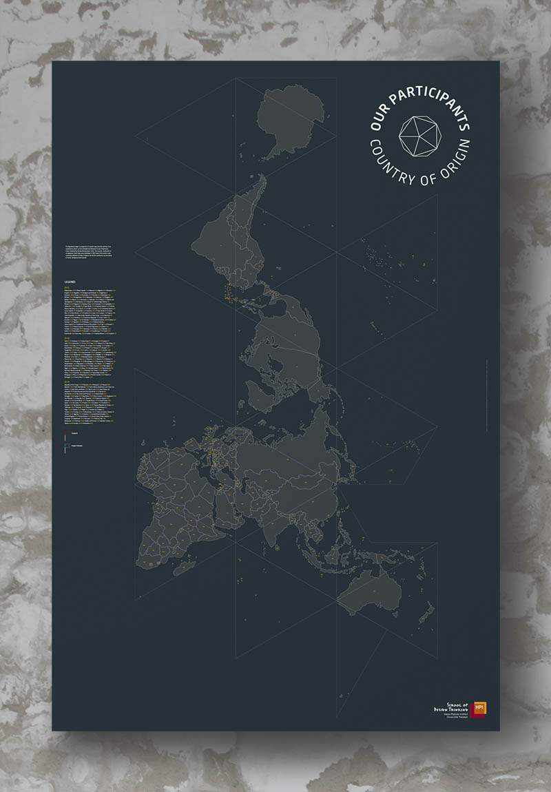 grey map on white grey background with legend