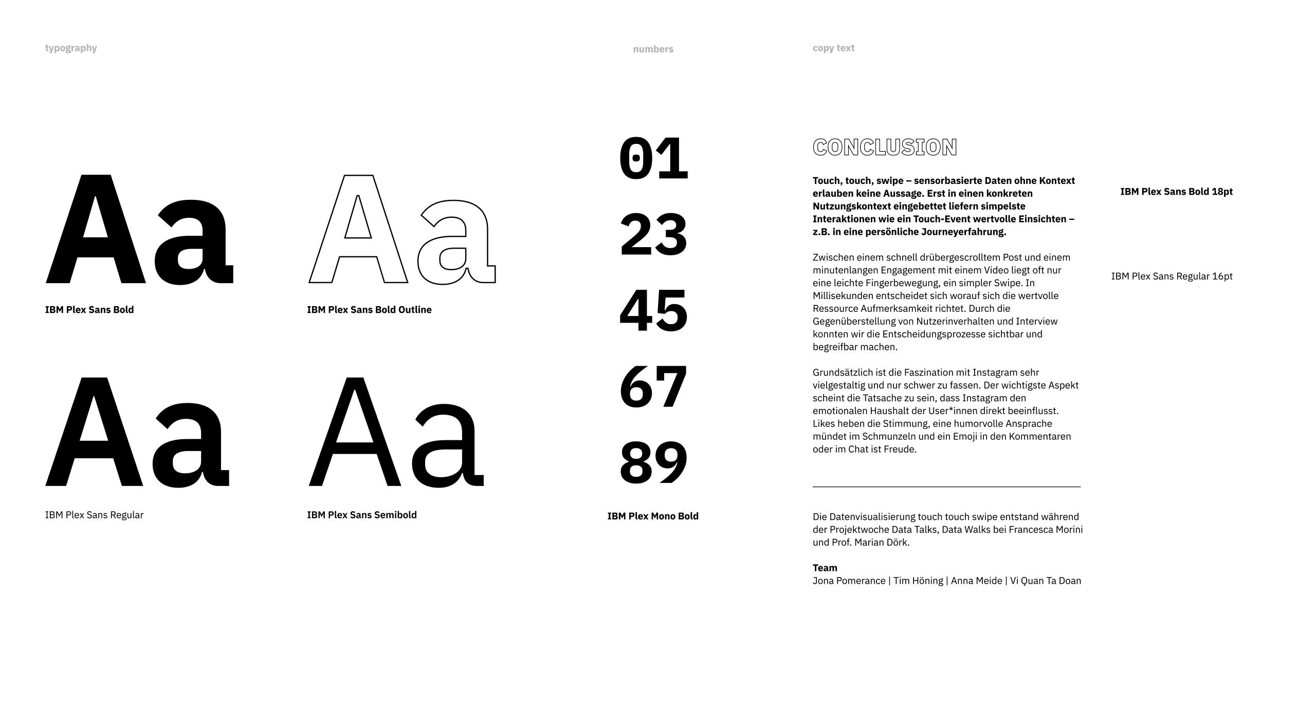 Stylesheet Typographie